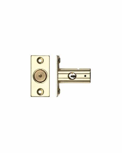 Bastidor de ventana Perno Electro Latón con o sin la clave de seguridad de tipo estrella 37mm