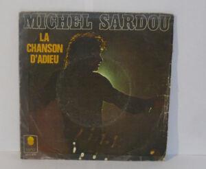 MICHEL-SARDOU-Chanson-Adieu-Supervisor-General-VINILO-45-Tours-6061470-TREMA