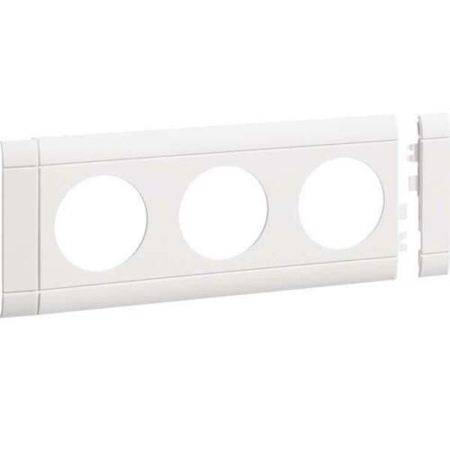 Tehalit Blende GB080309010 reinweiß Geräteblenden Kunststoff Blende