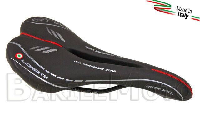 Sella MONTEGRAPPA LIBERTY MAX ANTIPROSTATA Nero Bici Mountain Bike / MTB