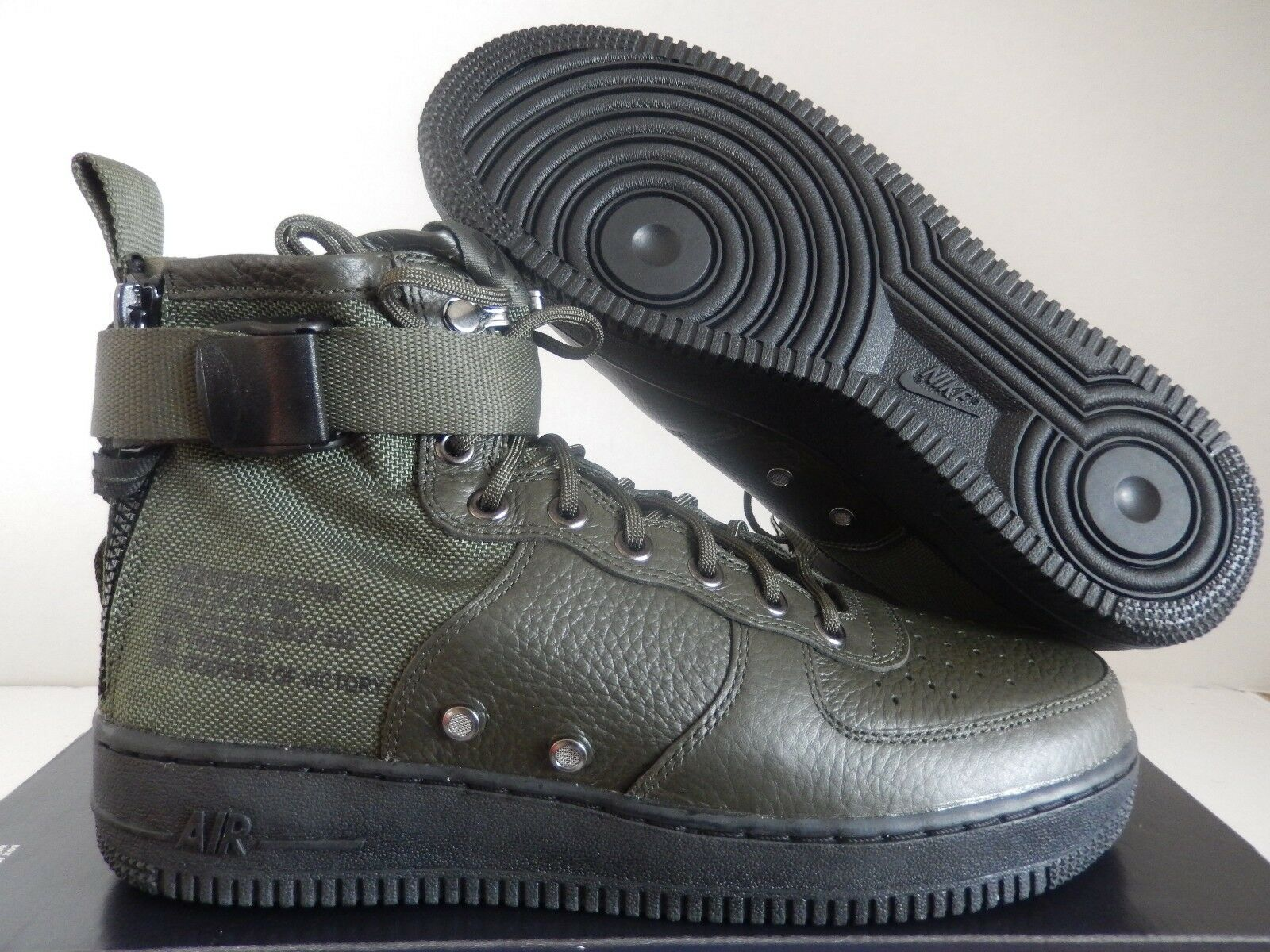 NIKE AIR FORCE 1 SF AF1 MID SPECIAL FIELD SEQUOIA GREEN SZ 9 [917753-300]