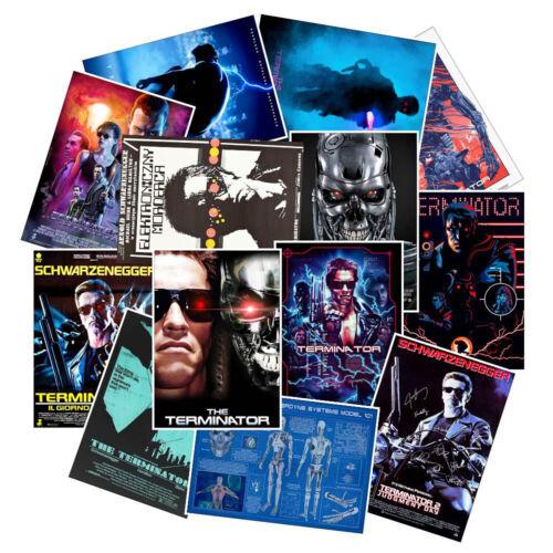 Terminator Stickers Skateboard Vinyl Decals Laptop Luggage Sticker Decor 25 Pcs
