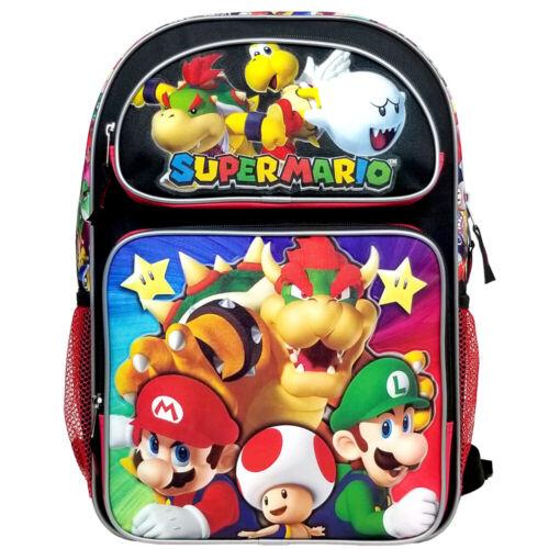 Super Mario Bros Super Bowser Large Backpack 00934
