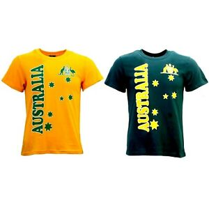 Adult-T-Shirt-Australian-Australia-Day-Souvenir-T-Shirt-100-Cotton