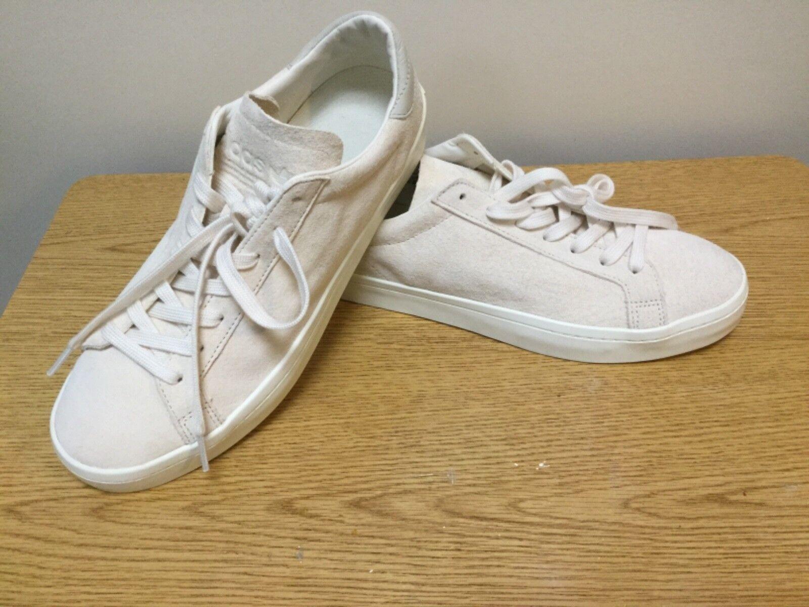 Adidas Originals Cream courtvantage último zapatos tenis comodo el último courtvantage descuento zapatos para hombres y mujeres 6653ac