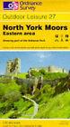 North York Moors: Eastern Area by Ordnance Survey (Sheet map, folded, 1986)