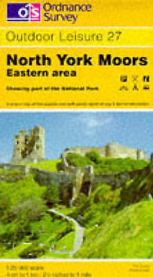 North York Moors - Eastern Area (OS Explorer Map Active), Ordnance Survey, Good