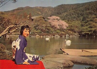 Japanair Lines ~kyoto~nomura Garden~airline Issue Postcard Commodities Are Available Without Restriction