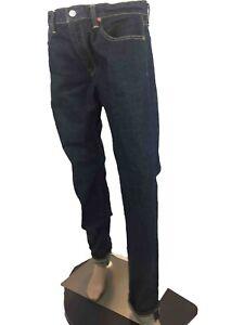 Polo-Ralph-Lauren-Mens-Sullivan-Slim-Fit-Denim-Jeans-Cotton-Darkwash-Sleek-M