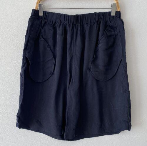 Bristol Studio Black Elastic Waist Shorts Size XL