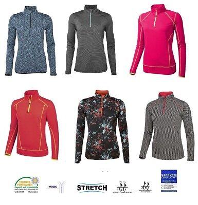 Fitness Funktionsshirt Shirt Laufen Langarmshirt Ski Wintersport Sportshirt