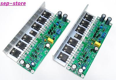 L15 MOSFET Amplifier Board 2 Channel AMP IRFP240 IRFP9240 + Angle Aluminum