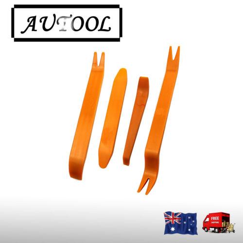 4pcs Car Removal Plastic Pry Tools Kit Door Trim Dash Panel Stereo Radio Set AU
