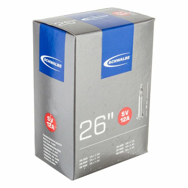 Schwalbe SV12A tube intérieur 26 x 1.0//1.50-40 mm Presta Valve