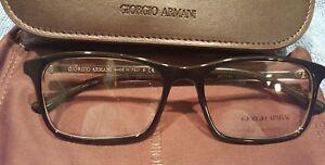 90128a54de4 Giorgio Armani AR 7145 5622 Eyeglass Frames Black Tortoise 55 17 145 ...