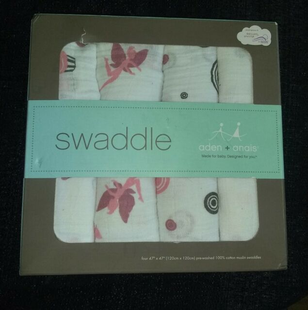 4 PACK JUNGLE JAM Baby BN Anais CLASSIC SWADDLE Aden