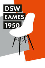Stampa incorniciata-Charles & Ray Eames, DSW Sedia POSTER (PICTURE Knoll Bertoia)