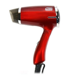 iNext IN-033 Foldable Hair Dryer 1600W With Cool & Hot Air Function 2 Speed Mode