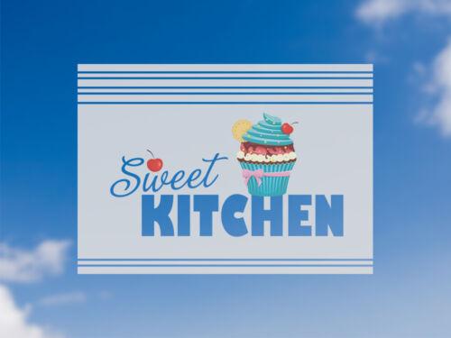 Sichschutzfolie film de fenêtre en couleur pour cuisine sort sweet Kitchen Cupcake