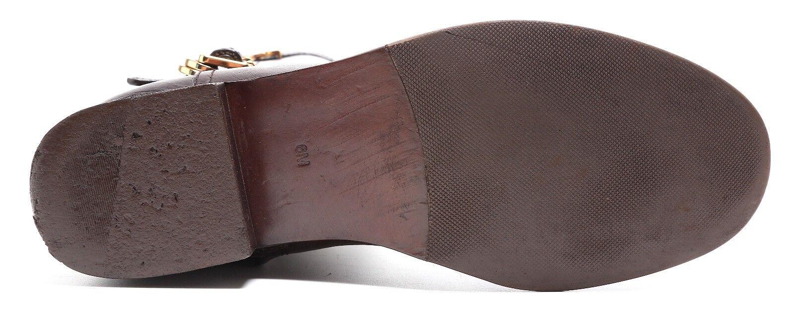 Tory Burch Eloise Leather Riding Boots Dark Brown Women Sz Sz Sz 6M 1081 38f3c0