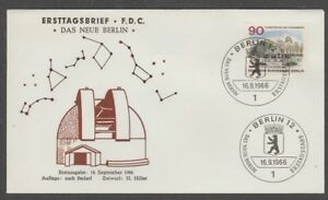 Stamps V4250 Berlin/ Architektur Minr 263 Auf Fdc Bracing Up The Whole System And Strengthening It