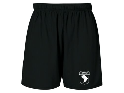 US Army infantry 101st Airborne Division Screaming Eagle sweat proof dri shorts