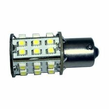 HQRP Bombilla LED de bayoneta BA15 30 LED SMD 3528 blanca para #1073 #1093 #1129