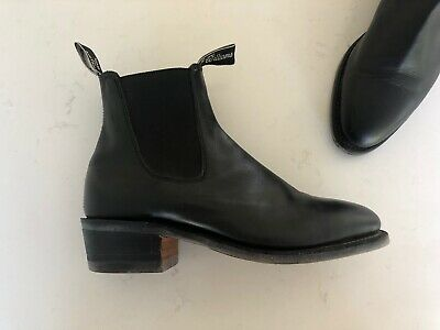 RM WILLIAMS Lady Yearling Boots Size 8