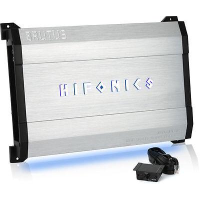 Hifonics BRX1100.1D 1100W RMS Monoblock Brutus Series Class-D Car Amplifier