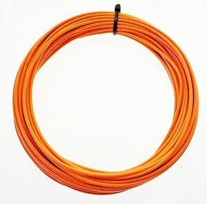 KFZ Kabel Litze Leitung FLRy 0,5mm² 10m orange Fahrzeug Auto Fahrzeugleitun<wbr/>g