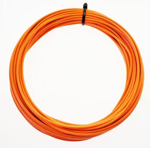 KFZ Kabel Litze Leitung FLRy 0,5mm² 10m orange Fahrzeug Auto Fahrzeugleitung