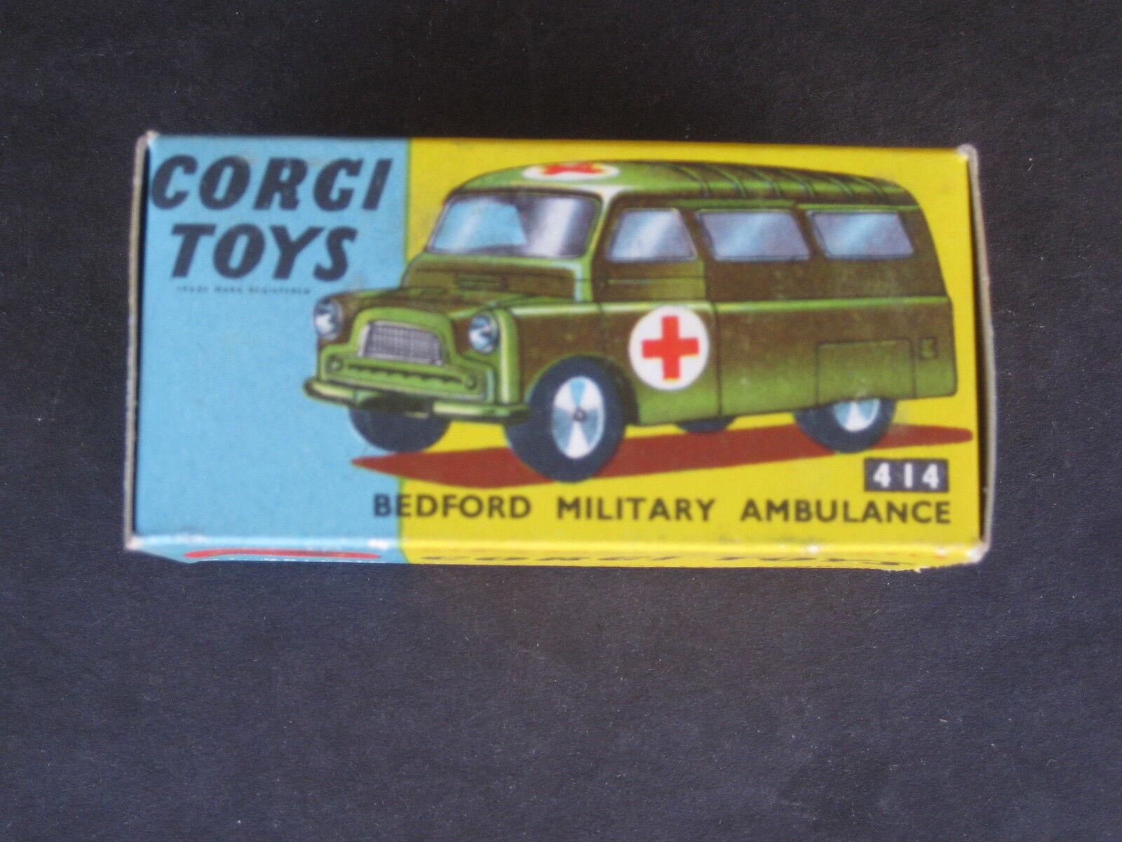 Corgi Bedford Military Ambulance 414  MINT CONDITION ORIGINAL BOX
