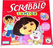 NEW Parker Brothers Dora The Explorer Scrabble Junior Game English & Spanish