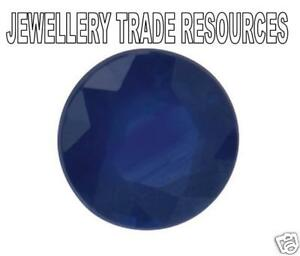 Natural-Blue-Sapphire-Round-Cut-3mm-Gem-Gemstone
