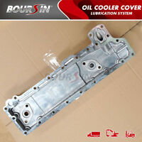 Oil Cooler Cover For Isuzu Npr Nkr Truck 3.3l 3.6l 4bc2 4be1 Elf
