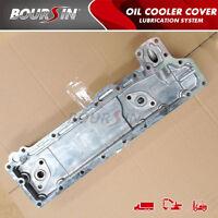 Oil Cooler Cover For Isuzu Npr Nkr Truck 3.3l 3.6l 4bc2 4be1 Elf