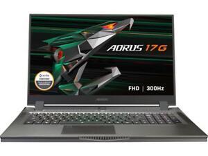 "GIGABYTE AORUS 17G XC - 17.3"" 300 Hz - Intel Core i7-10870H - NVIDIA GeForce RTX"