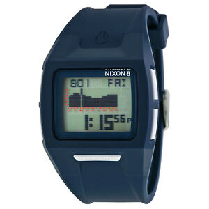 Nixon-Lodown-II-Digital-Dial-Navy-Polyurethane-Mens-Watch-A289307-AU