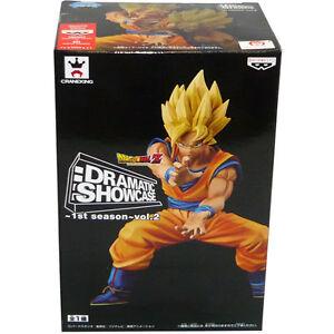 Banpresto-Craneking-Dramatic-Showcase-1st-Season-Vol-2-Dragonball-Z-SSJ-Goku-NEW