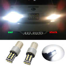 2x Canbus 2835 15-SMD 1156 BA15S Super White LED Signal Reverse Lights Bulbs US