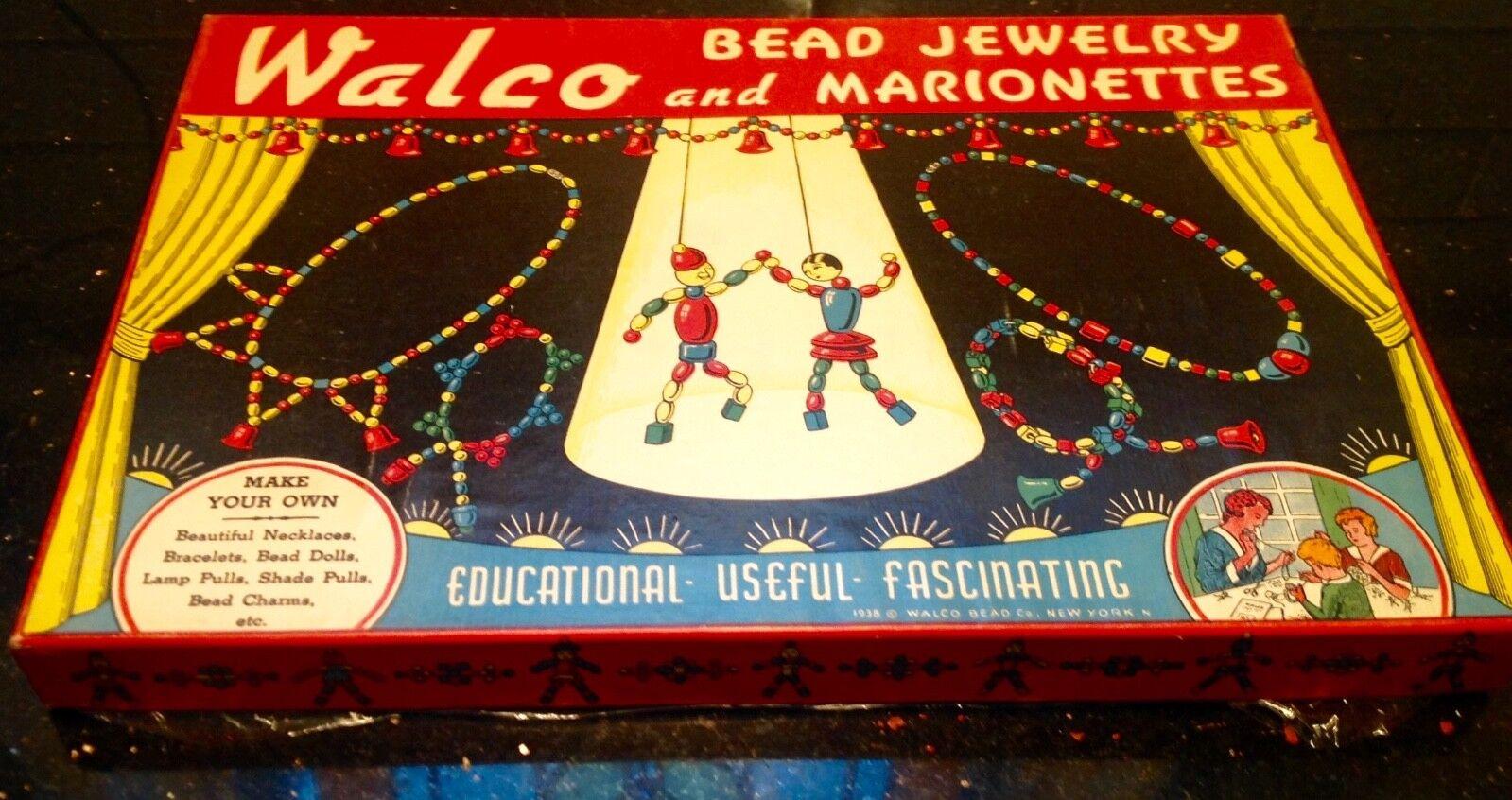 ventas calientes Vintage 1938 Walco grano joyería y marionetas traje no. 1810 1810 1810  ahorra hasta un 80%