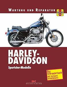 HARLEY-DAVIDSON-Sportster-Modelle-Reparaturbuch-Reparaturanleitung-Handbuch-Buch