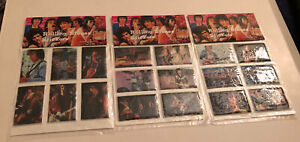 1985 The Rolling Stones Puffy Sticker Unopened Pack Lot of 3 Jagger