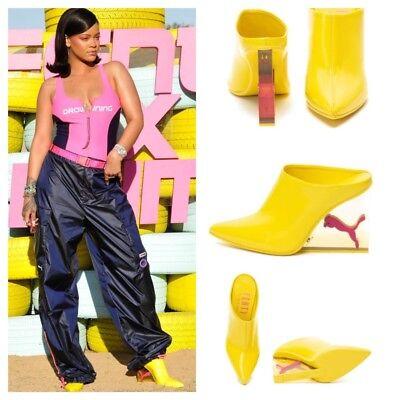 Puma X Fenty par Rihanna Chat Compensé Mules Talons pour Femme Chaussures 367669 | eBay