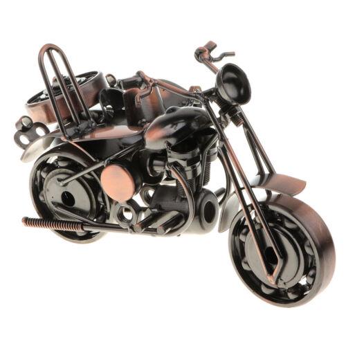 Handgefertigtes Motorradmodell aus Eisen mit Kettenrad T20