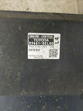 P//N 89661-02L70 2009 Toyota Matrix ECU ECM PCM Engine Computer Plug /& Play