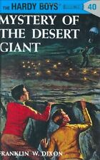 The Hardy Boys: Mystery of the Desert Giant 40 by Franklin W. Dixon (1960, Hardcover)