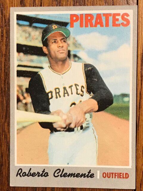 1970 Topps Roberto Clemente Pittsburgh Pirates 350 Baseball Card