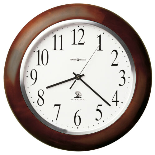 625-259 MURROW  A RADIO CONTROLLED WALL CLOCK BY  HOWARD MILLER   625259