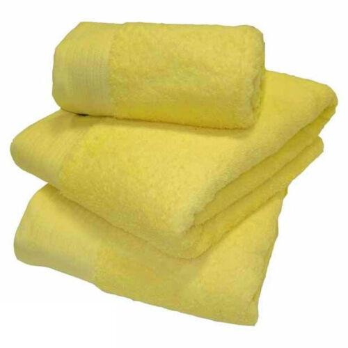 Luxe 100/% coton égyptien super doux 600 gsm serviette main serviette de bain feuille